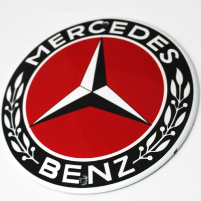 plaque-mercedes-benz-monogramme